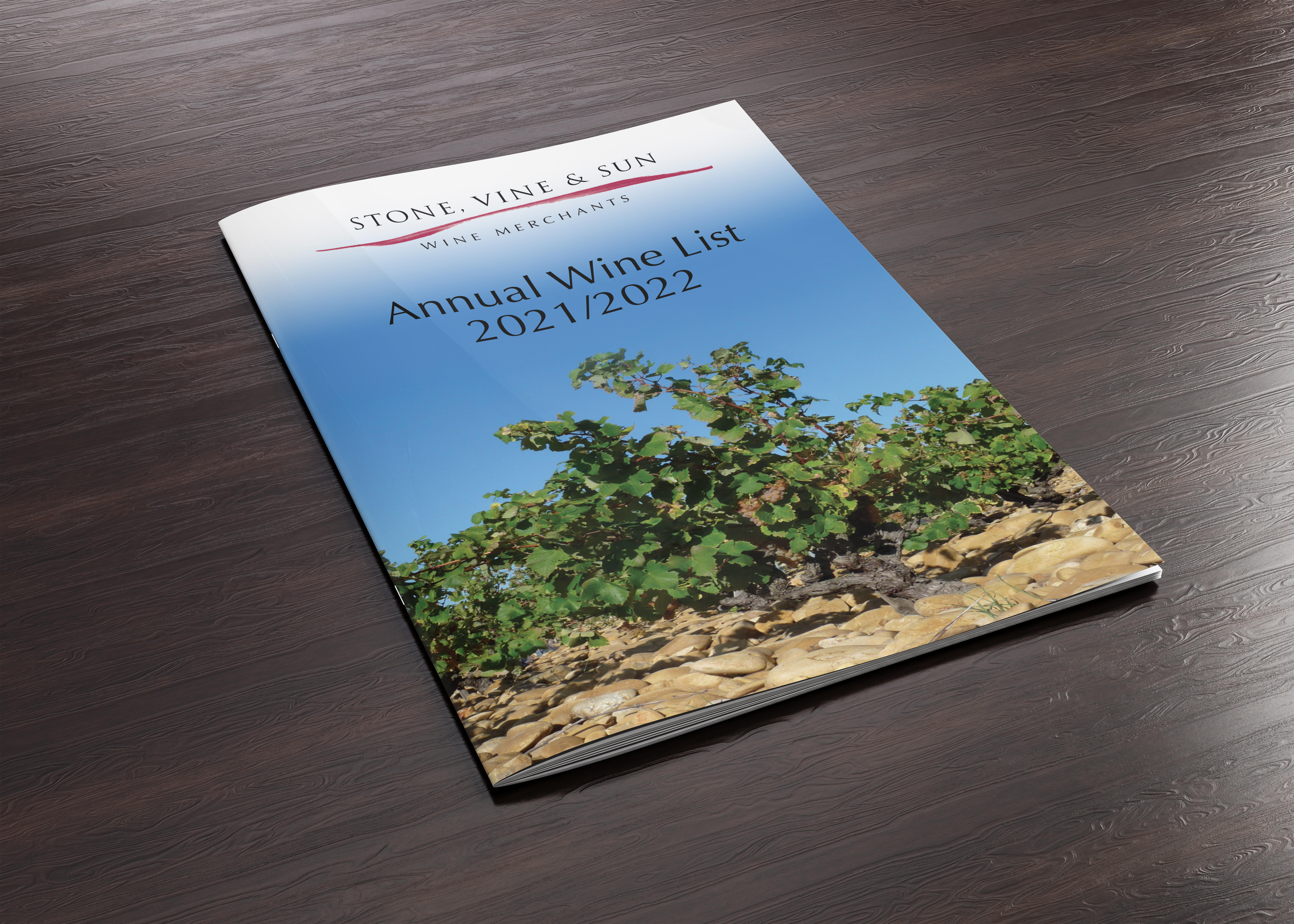 Stone, Vine & Sun Annual Wine List 2021/22