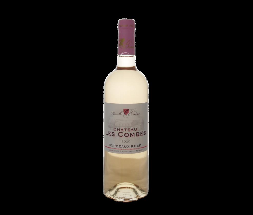 Château Les Combes, Bordeaux Rose, 2020