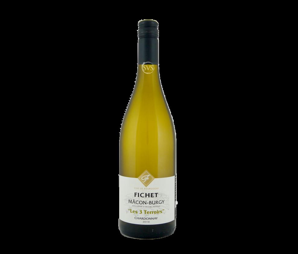 Fichet, Macon-Burgy, Les 3 Terroirs, 2019