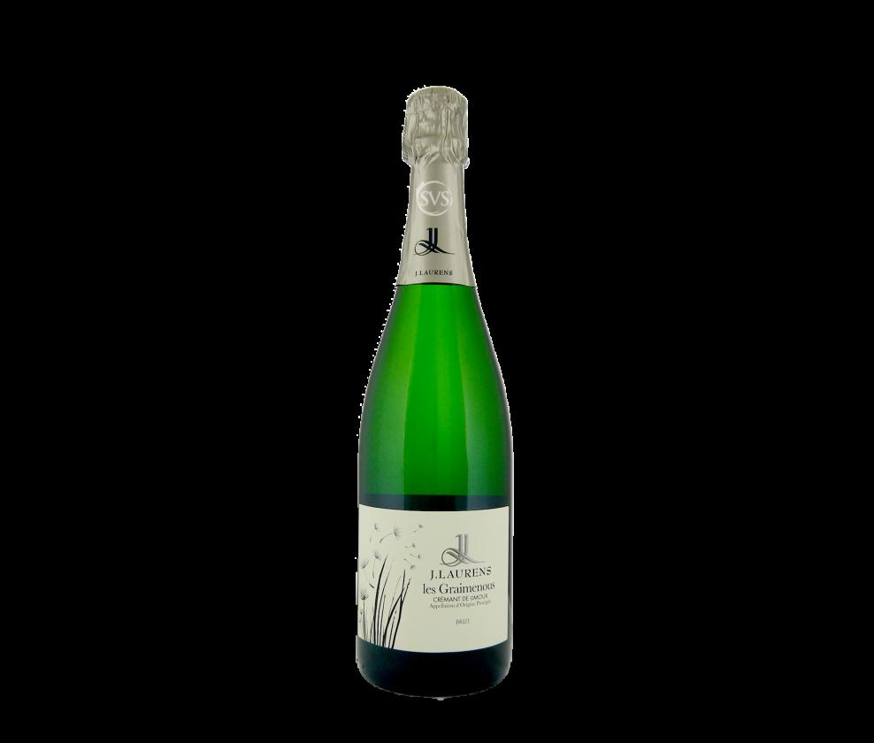 Domaine J. Laurens, Cremant de Limoux Brut, Les Graimenous, 2019
